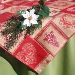 Karácsonyi pamut asztalterítők