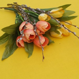 Sárga színű terítő - egyszínű pamut asztalterítő