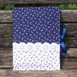 Kékfestő napló - apró mintás kékfestő