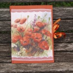 Pipacsos napló - narancssárga pipacsok