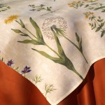 Virágos terítő - mezei virágos asztalközép