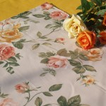 """Sárga rózsás terítő - """"Anglia rózsája"""" asztalközép"""