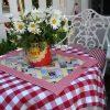 Asztalterítő kerek asztalra - kör alaú terítő