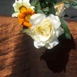 Asztalterítő taft - csokibarna színű