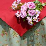 """""""Olívia rózsakertje"""" asztalterítő"""
