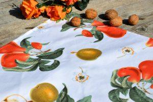 Gyümölcsös terítő - Az én gyümölcsös kertem
