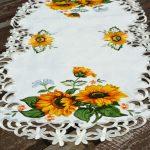 Asztali futó - Napraforgós terítő 90x40 cm