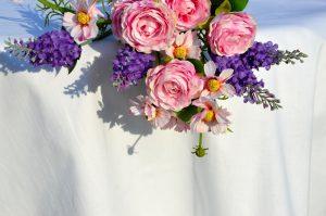Asztalterítő pamut - fehér egyszínű terítő