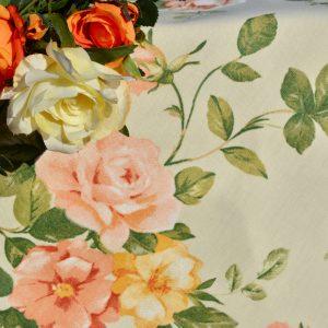 """Asztalterítő - """"Anglia rózsája"""" abrosz"""