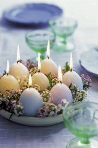 Tojásgyertyák húsvétra