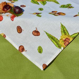 Asztalterítő garnitúra - ősi termések