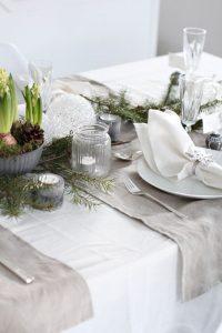 Fehér damaszt terítő - a nagy klasszikus