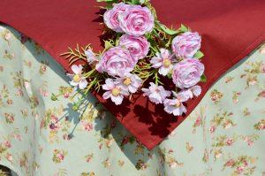 Kör alakú terítő - Olívia rózsakertje
