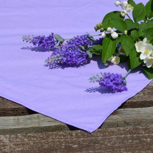 Halvány lila terítő - egyszínű asztalközép