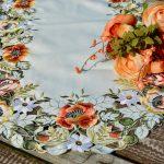 Asztali futó - őszies színvilágú terítő 90x40cm