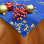 Arany terítő garnitúra - fagyal mintával
