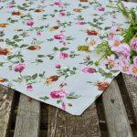 Rózsás középterítő - Anna rózsái 70x70 cm