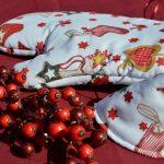 Fogókesztyű - karácsonyi mikulás csizmás