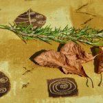 Leveles abrosz - őszies hangulatú 150x120 cm