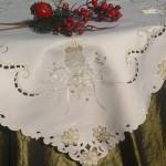 Karácsonyi asztalközepek, terítők