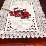 Karácsonyi asztali futók, terítők