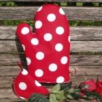Edényfogó kesztyűk - konyhai textilek
