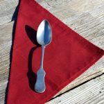 Textil szalvéta : egyszínű - bordó - szalvéta