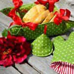 Textil kenyérkosarak - hangulatteremtés a konyhában
