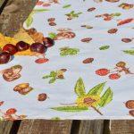 Asztali futó - őszi termések