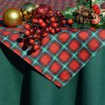Skót kockás asztalterítő - Bori garnitúra